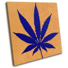 Cannabis Leaf Abstract - 13-1326(00B)-SG11-LO